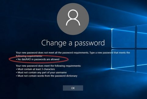 Disallow special characters in Specops Password Policy