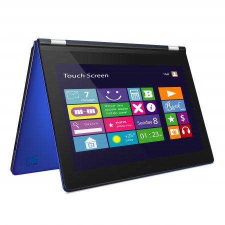 Applications on tablet and laptop