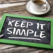 keep it simple on blackboard