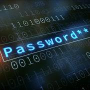 password length on screen