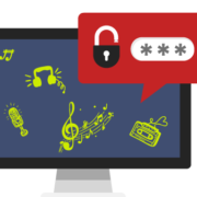 music notes and password security