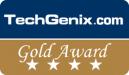 Tech Genix Gold Award